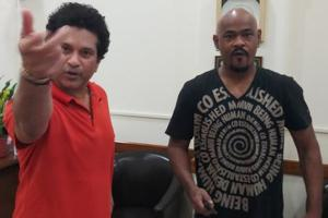 Sachin Tendulkar, Vinod Kambli reunite to celebrate latter's 46th...
