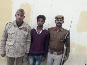 Shahrukh (27), of Niwadi, Ghaziabad was arrested from Eco Tech 3 in Greater Noida on Thursday.