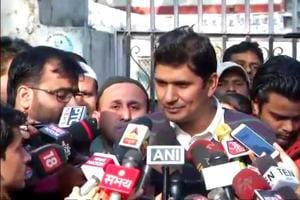 Aam Aadmi Party leader Saurabh Bhardwaj refuted the reports and said that no hearing has been held before the Election Commission yet.