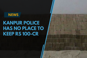 After the seizure of demonetised currency notes worth Rs 100 crore in...