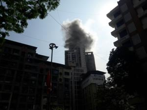 Fire breaks out in Thane high-rise; firemen evacuate 150 residents