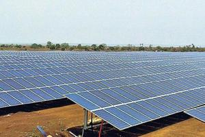 The Bhadla solar park is being developed in four phases.