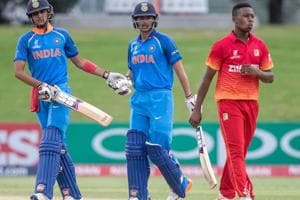 India cruise to 10-wicket win vs Zimbabwe in ICC U-19 Cricket World...