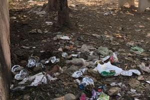 Citizens languish filthy state of Dhaak Park in Greater Noida's Delta...