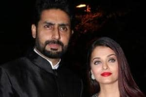 Aishwarya Rai, Abhishek Bachchan twin in black and we can't take our...