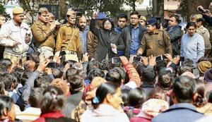 Lucknow: Parents stage protest, raise concern over children's safety