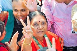 Anandiben Patel succeeded Narendra Modi when the latter resigned from the Gujarat assembly to become the Prime Minister in  2014.