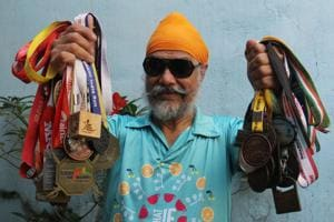 Mumbai Marathon: Age just a number for lottery shop owner