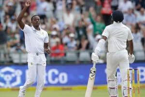 South African fast bowler Kagiso Rabada (L) says his team is ready to go for the kill against Indian cricket team in the third Test in Johannesburg.
