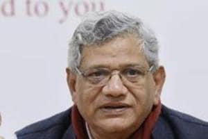 CPI(M) general secretary Sitaram Yechury during an event in New Delhi.