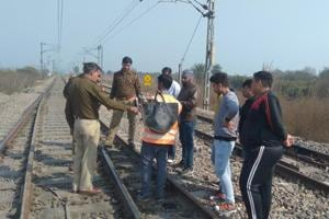 Tragedy averted: Man arrested for removing fish plates from rail track...