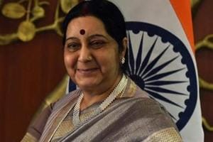 Swaraj says govt woking to provide passport services to citizens even...