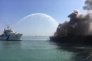 Fire on oil tanker off Gujarat coast contained, no spillage