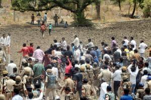 Mandsaur firing incident Judicial commission head cross examination of...