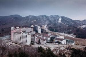 Photos: Failed ski resort foreshadows Pyeongchang Olympics'...