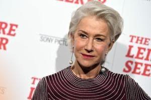 Actor Helen Mirren attends The Leisure Seeker New York Screening.