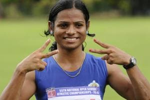 Dutee Chand's career hit a roadblock after she was banned in 2014 on the basis of IAAF's hyperandrogenism policy.