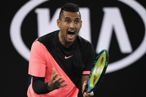 Nick Kyrgios takes down idol Jo-Wilfired Tsonga to reach Australian...