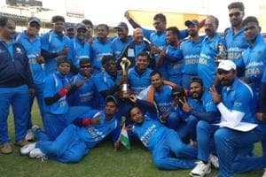 India subdue Pakistan in thriller to defend Blind Cricket World Cup...