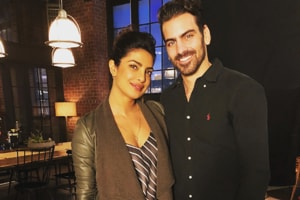 Priyanka Chopra gets a surprise visit from deaf actor/model Nyle...