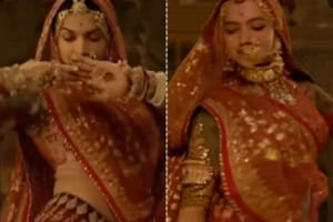 Ghoomar before and after: Look how they secretly covered up Deepika...