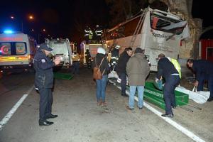 Eleven killed, 46 injured in Turkey bus crash: Official