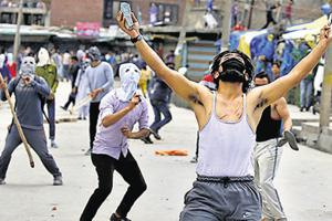 The home ministry has initiated talks with the Jammu and Kashmir government to review cases involving repeat instances of stone-pelting.