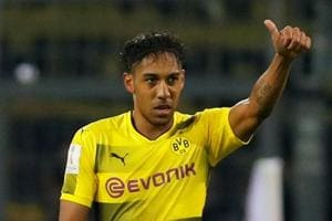 Arsenal offer 50m euros for Borussia Dortmund's Pierre-Emerick...