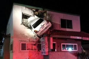 Photos of the Week: From a freak car accident in California to the...