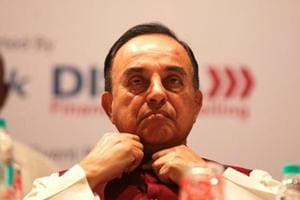 BJP leader Subramanian Swamy said that he found the documents related to the I-T department's order lying along with newspapers at his doorstep recently.