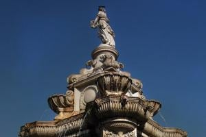 After floating tenders 7 times, restoration of Mumbai's Flora Fountain...