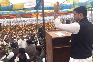 Raje govt neglected farmers, dividing people on caste lines: Pilot