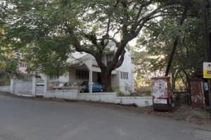Naval Battiwala's house in Lullanagar in Pune on Saturday.