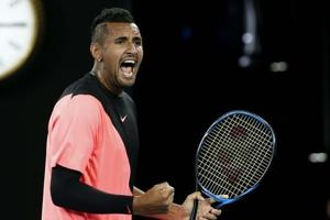 Australian Open: Andre Agassi urges Nick Kyrgios to get a coach to...