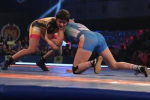 Pro Wrestling League: Veer Marathas beat Delhi Sultans, inch closer to...