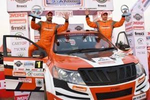 Gaurav Gill wins K-1000 Rally, clinches fifth Indian National Rally...