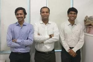 Vivek Chirania (from left), Tanmay Pai and Umesh Balwani engaged with more than 100 stakeholders, including young entrepreneurs, some from their alumni and friend circle, besides angel investors and think-tanks, before finalising the draft.