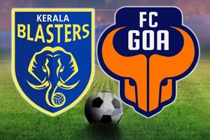 Kerala Blasters FC vs FC Goa, Indian Super League, live score