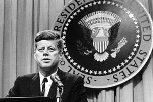 Former US president John F Kennedy's silk scarf may fetch $6,000 at...