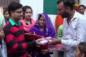 Man sends amity message in save girl child campaign