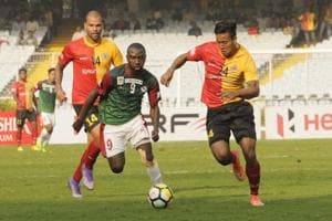 Dipanda Dicka brace helps Mohun Bagan do the I-League double over East...