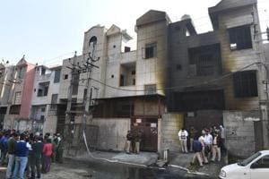 Bawana firecracker unit where blaze killed 17 was registered as a...