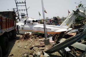 CM's chopper crash-landed in Latur in May 2017