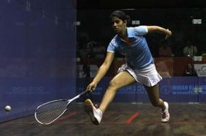 Indian squash player Joshna Chinappa goes down fighting to Egyptian...