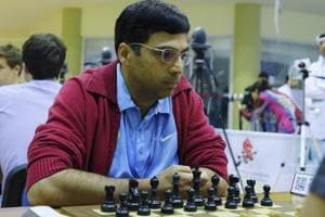 Viswanathan Anand draws with Peter Svidler in Tata Steel Masters chess