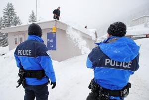 World Economic Forum: Security forces outnumber delegates at Davos