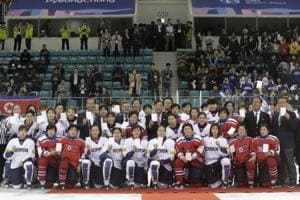A unified Korean team will march together at the opening ceremony of...