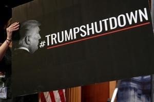 As Republicans, Democrats battle government shutdown, Trump collects...