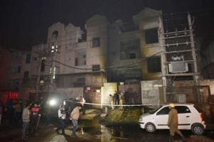 Bawana fire: Building storing crackers did not have a no-objection...