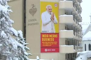 World Economic Forum: India toast of town at Davos, from billboards to...